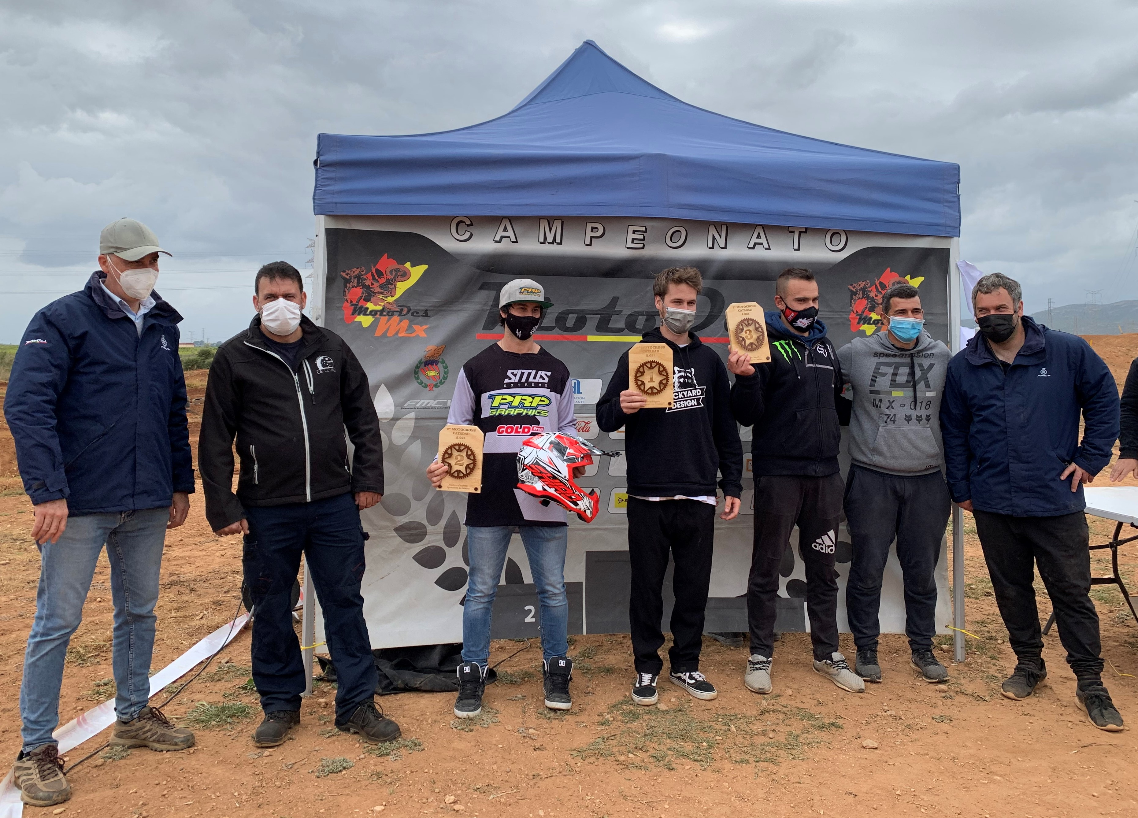 Espectacular Motocross en Catadau