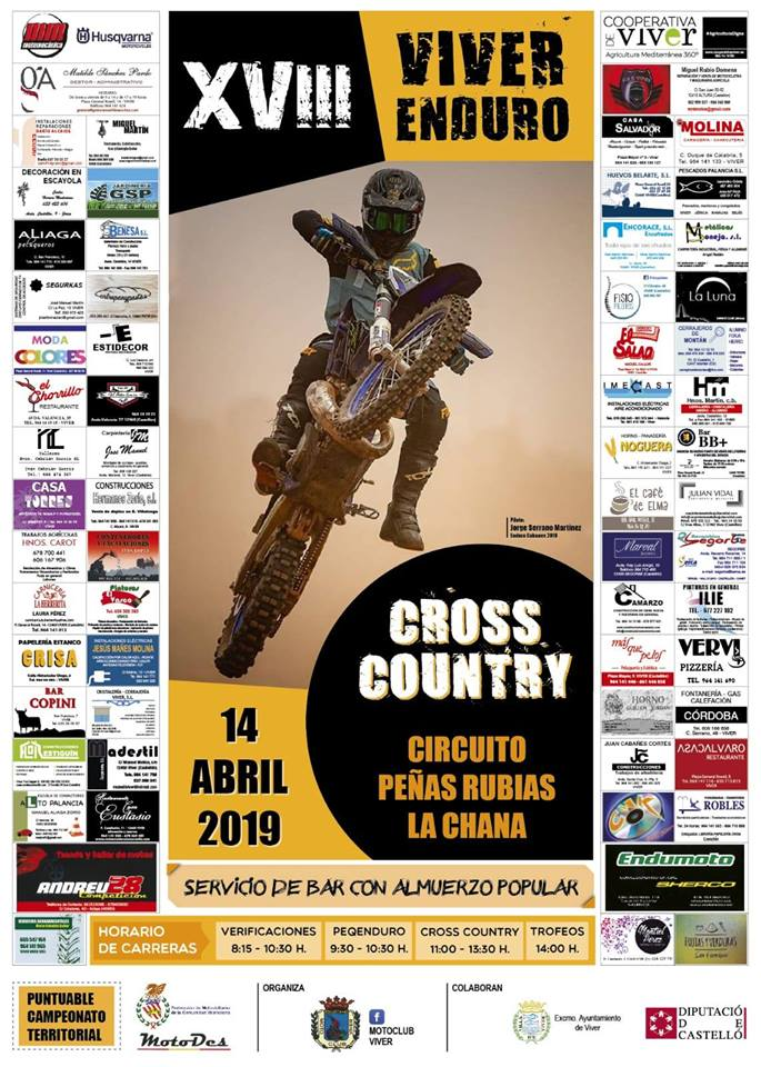 ¡Arranca el MotoDes Cross Country 2019!